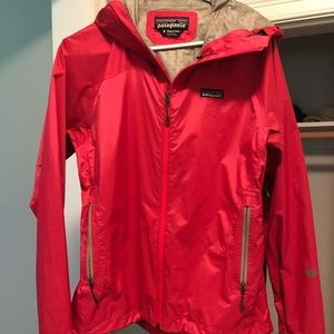 Patagonia raincoat